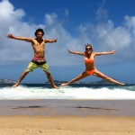 Couple jumping in Brazil - Guest Post