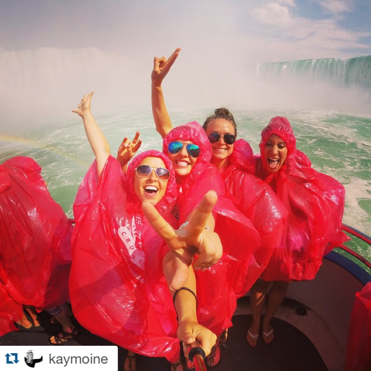 7 July Travel Destinations - Niagara Falls - GirlTripping - kaymoine - instagram