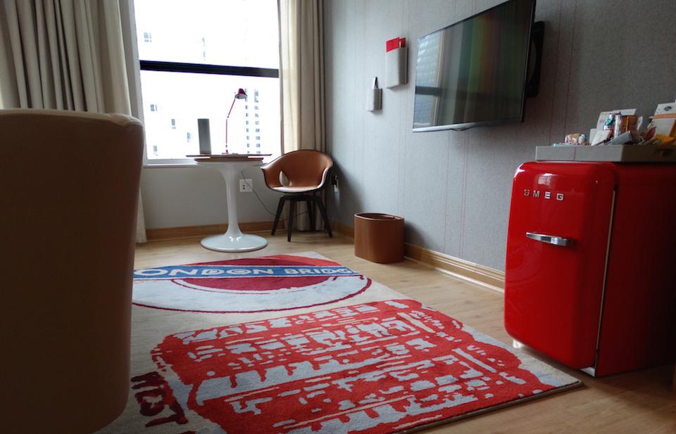 Virgin Hotels Room Floor