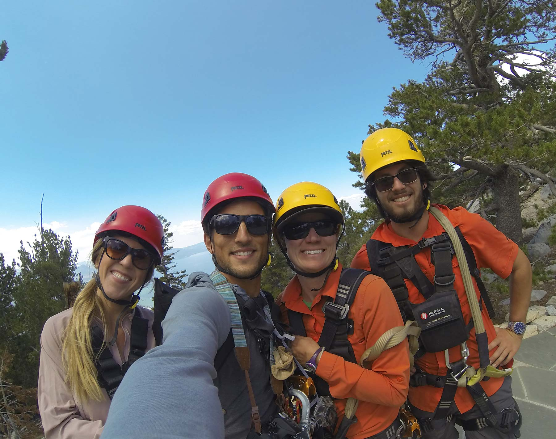 Lake Tahoe Zip Lining
