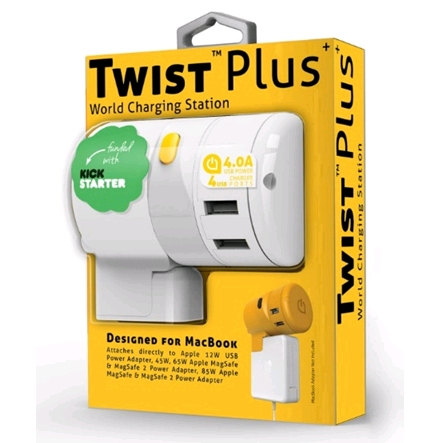 oneadaptr Twist Plus World Charging Station Adapter - travel accessories