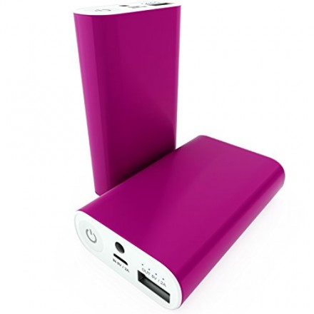 Pink Travel Battery Pack - External Battery for phone - travel accessories