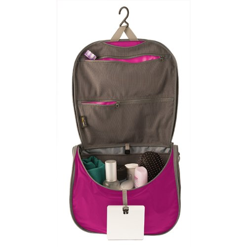 Sea to Summit Hanging Toiletries Bag Pink - travel accessories