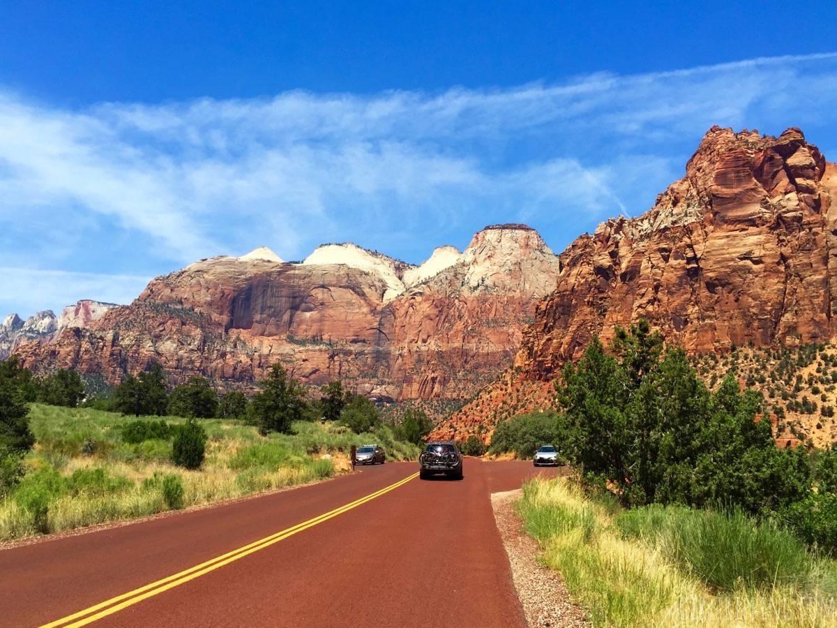 Zion National Park Orange Roads