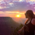 Grand Canyon Sunset in Summer - https://girltripping.com