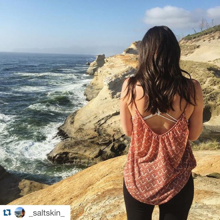 7 July Travel Destinations - Oregon Coast - GirlTripping - _saltskin_ - instagram