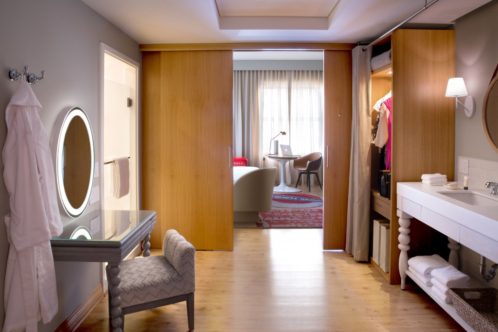 Inside room of Virgin Hotels
