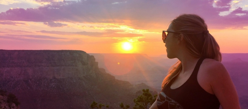 The mind-blowing Grand Canyon sunset I can't believe I almost missed
